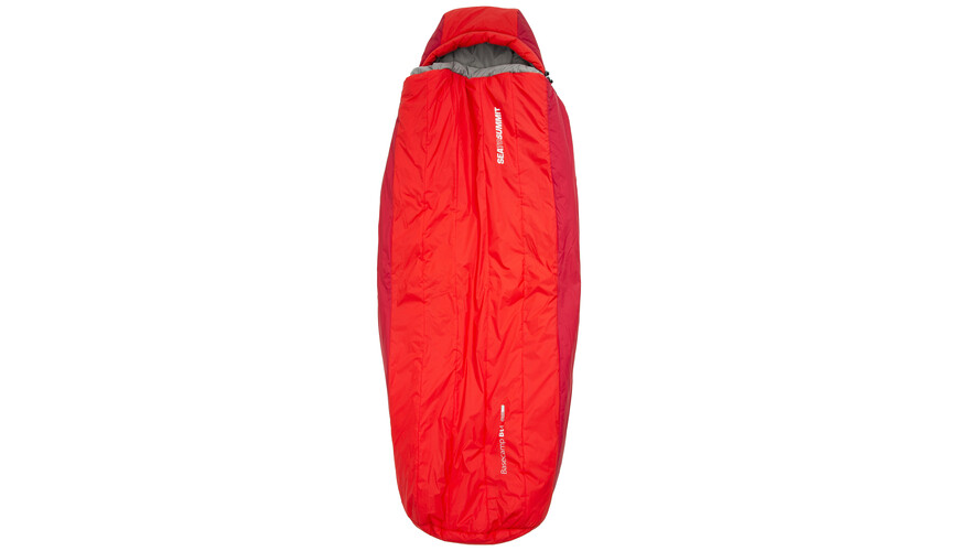 Sea to Summit BaseCamp Bt4 Sleeping Bag Regular red
